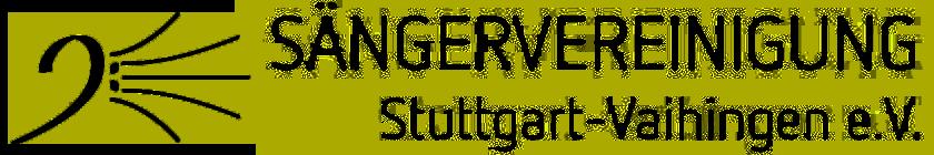 Sängervereinigung Stuttgart-Vaihingen e.V.